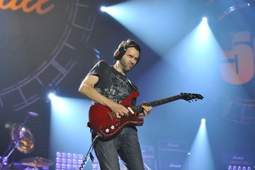 Paul Gilbert Glenn Hughes performs during the 'Marshall 50 Years of Loud' event held at Wembley Arena in London