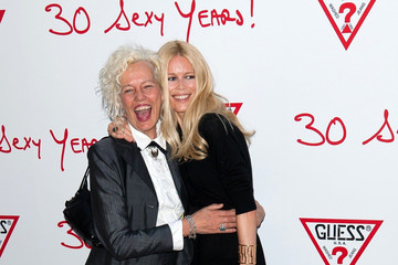 Paul Marciano Claudia Schiffer at the GUESS 30th Anniversary