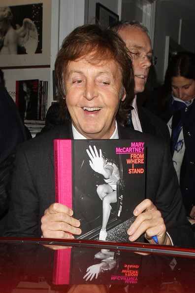 Paul McCartney At His Daughters Book Launch In London