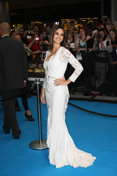 "Penelope Cruz attends Disney's film premiere of ""Pirates of the Caribbean: On Stranger Tides"" in London."