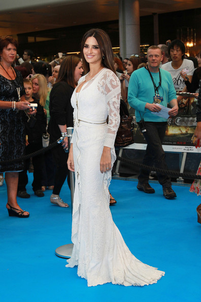 """Penelope Cruz attends the red carpet arrival at the """"Pirates Of The Caribbean: On Stranger Tides"""" film premiere in London."""