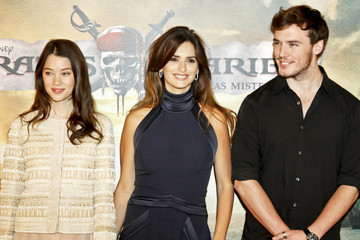"Penelope Cruz Astrid Berges Frisbey The Madrid premiere of ""Pirates of the Caribbean: On Stranger Tides"""