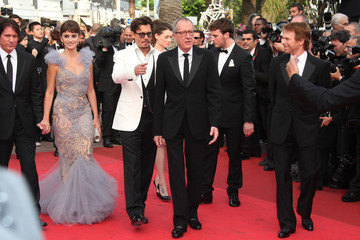 "Jerry Bruckheimer Sam Claflin The ""Pirates of the Caribbean - On Stranger Tides"" Premiere"