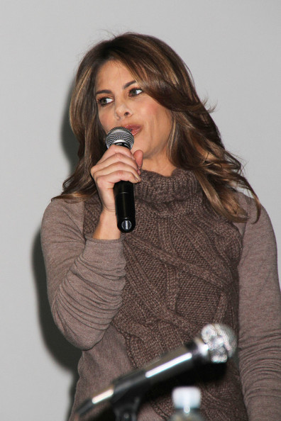Personal Trainer Jillian Michaels speaks at the Consumer Electronic Show in ...
