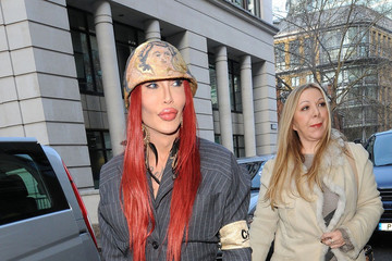 Pete Burns Jameela Jamil Leaves London Fashion Week
