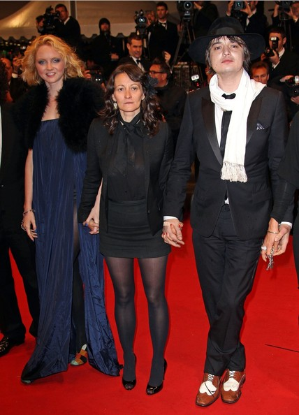 Pete Doherty seen at the premiere for his new film 'Confession of a Child of the Century' at the Cannes Film Festival 2012 in France