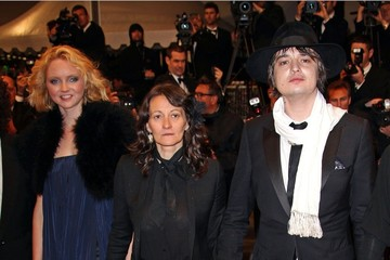 Sylvie Verheyde Pete Doherty seen at the premiere for his new film 'Confession of a Child of the Century' at the Cannes Film Festival 2012 in France