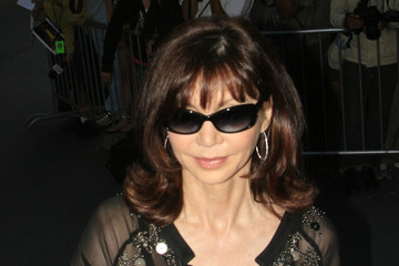 "Victoria Principal Celebrities Outside the ""Larry King Live"" Studios"