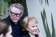 - Wednesday September 7 2011. Gary Busey and Maria Elena at the unveiling of Buddy Holly's star on the Hollywood Walk of Fame. Gary accompanied Buddy's widow Maria Elena as she inveiled the star outside the Capital Records Building on what would have been Buddy's 75th birthday.