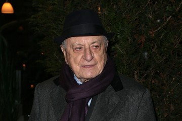 Pierre Berge Celebs at the Sidaction Gala Dinner in Paris