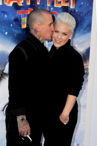 "Pink Photos Photos - Pink and Carey Hart at the ""Happy Two ... Katie Holmes Married"