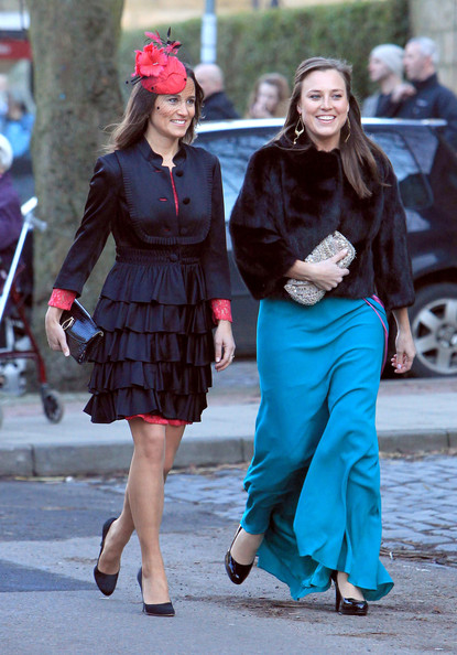 pippa middleton dress. Pippa wears red lace dress to