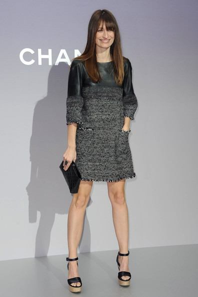 Celebs at the Chanel Show in Paris