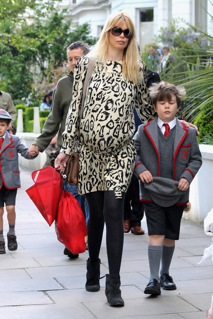 Bel Air Honda >> Claudia Schiffer Out and About in London - Zimbio