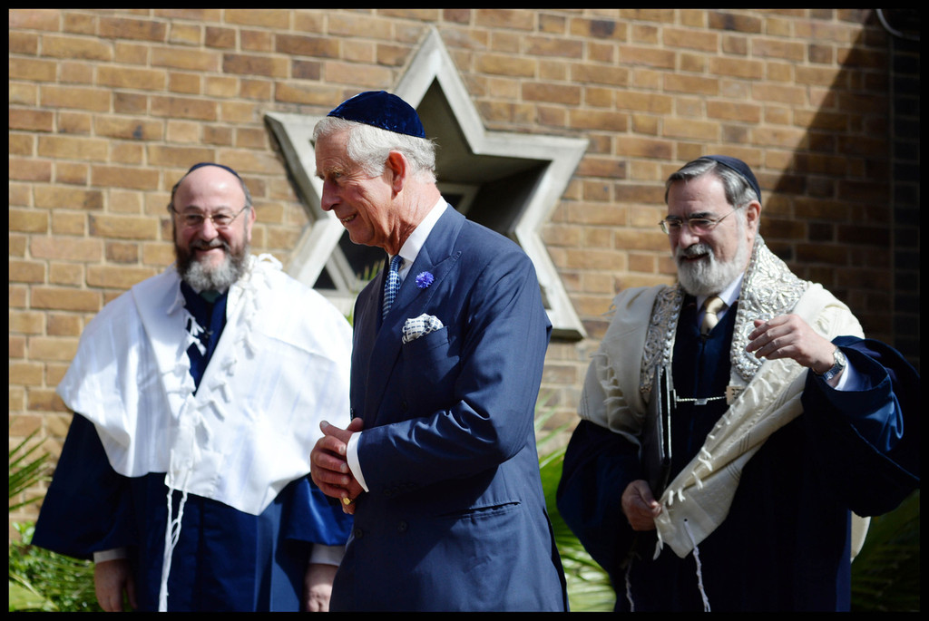 Image result for Prince Charles WEARING YAMAKA