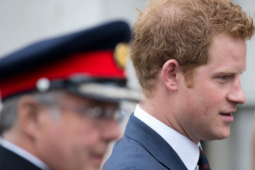 Prince Harry British Royals Meet with Wounded Veterans