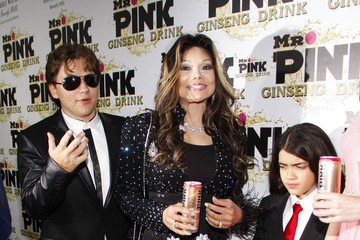 Prince Michael Jackson Celebs at the Mr. Pink Party