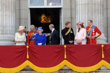 Prince William Prince Charles British Royals Attend the Trooping the Colour Ceremony — Part 3
