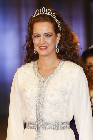 Princess Lalla Salma Photos - Guests Arrive for a Dinner With the ...lalla salma