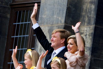 Princess Alexia Guests Arrive for King Willem-Alexander's Inauguration