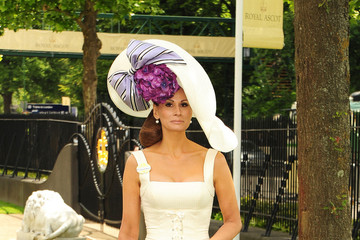 Isabella Christensen Princesses Eugenie and Beatrice arrive at Royal Ascot