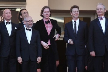 Bob Balaban Wes Anderson Raoul Peck, Diane Kruger, Nanni Moretti opening night of the 65th Cannes Film Festival arrives for the Moonrise Kingdom Premier at the Cannes Film Festival 2012