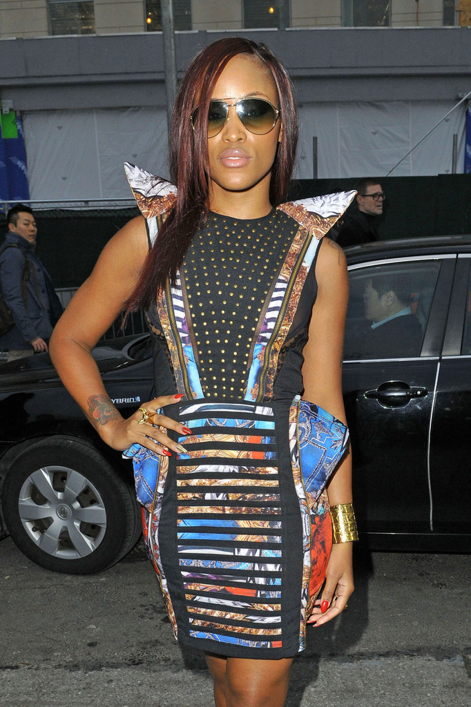 Rapper Eve Out For Fashion Week In Nyc Zimbio
