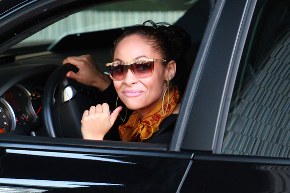 photo of Raven-Symoné  - car