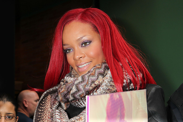rihanna pictures red hair. Rihanna+red+hair+2011+