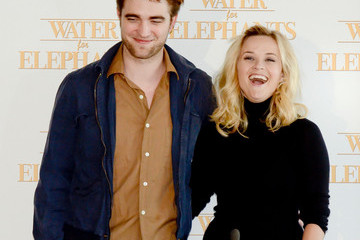 Reese Witherspoon Robert Pattinson Reese Witherspoon and Robert Pattinson at Sydney's Luna Park