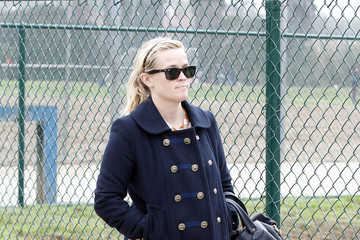 Reese Witherspoon Reese Witherspoon at Deacon's Soccer Game