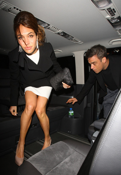 Robbie Williams And Ayda Field Photos Photos Stars At