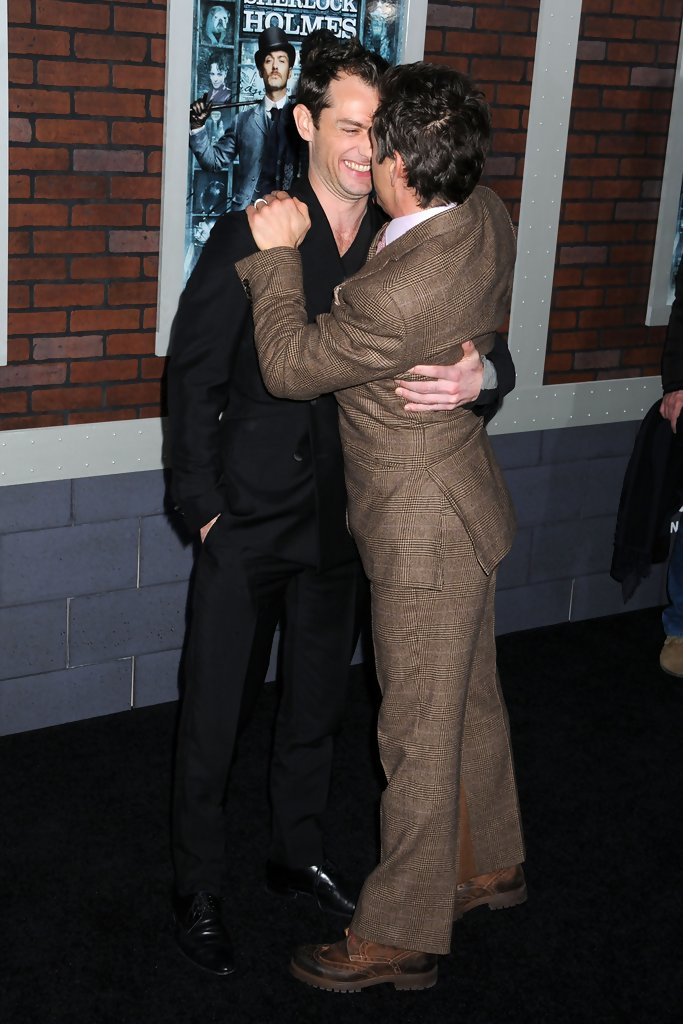 Jude Law and Robert Do...