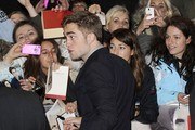 "Robert Pattinson attending the UK Premiere of ""The Twilight Saga: Breaking Dawn - Part 2"" held at the Empire Cinema in Leicester Square, London."