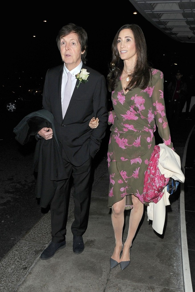 Paul McCartney And Nancy Shevell Photos