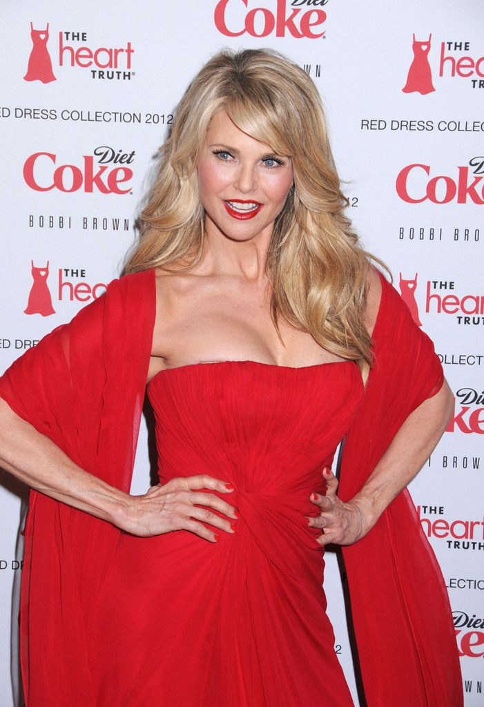 Christie Brinkley In Celebs At The Heart Truth S Red Dress