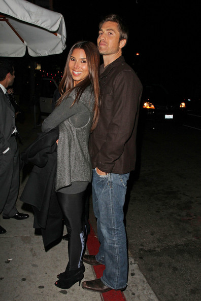 Eric Winter Roselyn Sanchez and her husband Eric Winter stand close as they