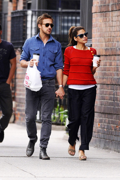 Ryan Gosling and Eva Mendes Together in NYC []
