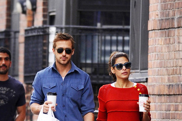 Ryan Gosling Eva Mendes Ryan Gosling and Eva Mendes Together in NYC