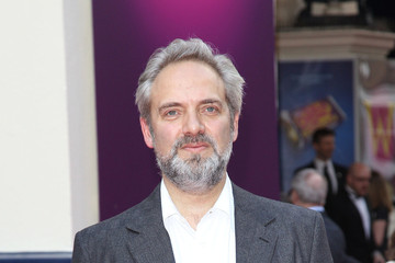 Sam Mendes Celebs Arrive for 'Charlie and the Chocolate Factory'