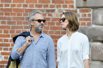 Sam Mendes Sam Mendes and Rebecca Hall in New York City