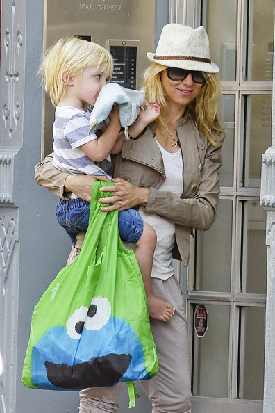 Naomi Watts and Family in NYC
