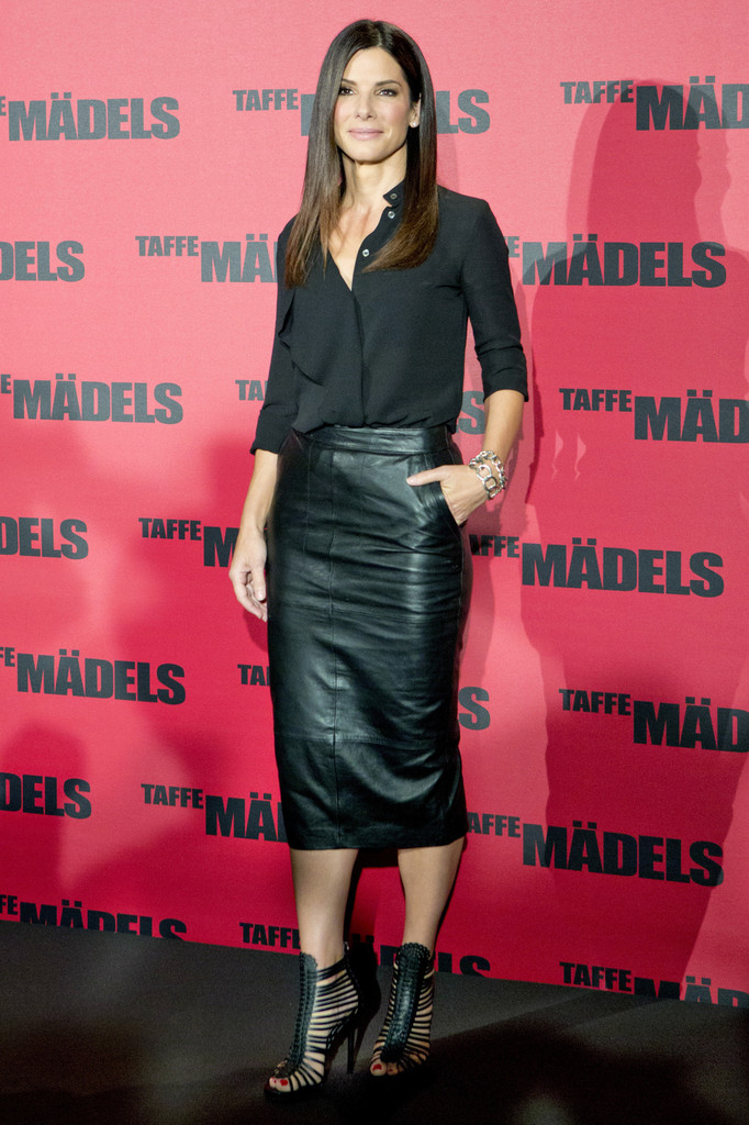 Everyone in Hollywood is Obsessed With This $150 Leather Skirt