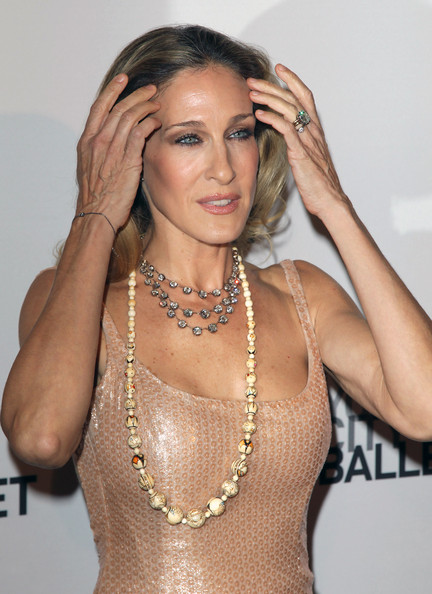 Sarah Jessica Parker at the New York City Ballet Fall Gala