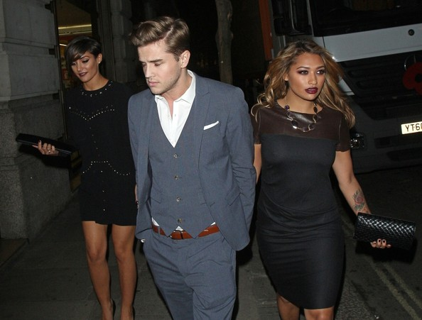 The Saturdays Pictures - Celebs Out Late in London - Zimbio