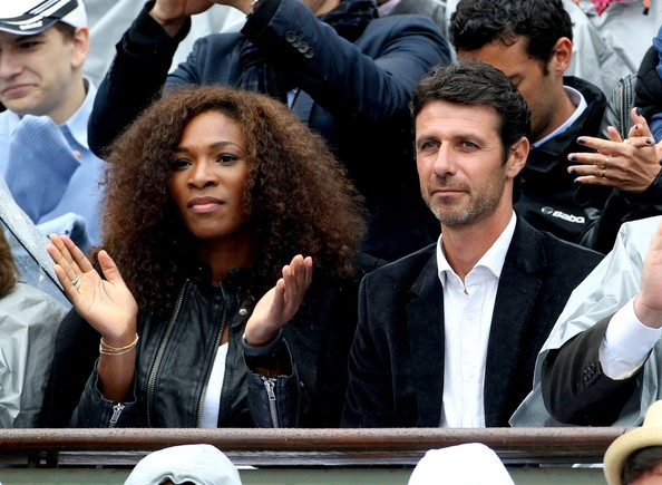 serena williams and coach dating