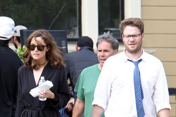 Seth Rogen 'Townies' Films in LA