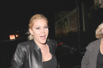Shanna Moakler Celebs Enjoy a Night Out in Hollywood