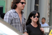 Is Shannen Doherty pregnant? The actress is seen looking a bit heavier set while holding hands with photographer boyfriend Kurt Iswarienko in NYC.