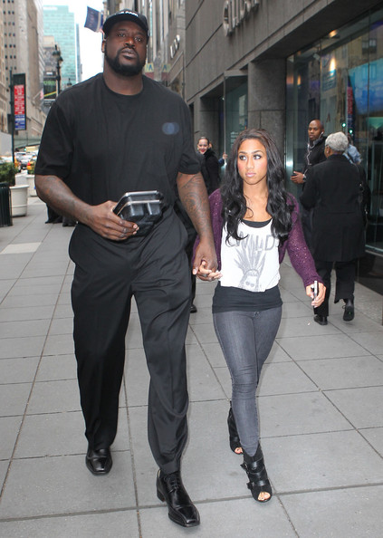 You Shaq and his girlfriend with